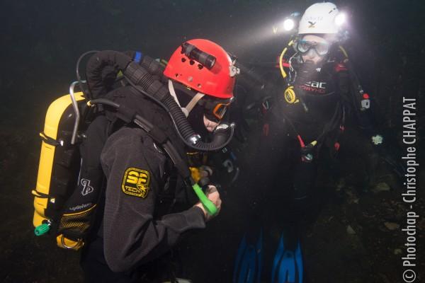 Plongée souterraine Gourneyras