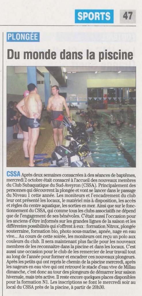 Journal de Millau du 17 Octobre 2013